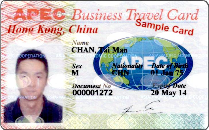 Apec Business Travel Card Holders