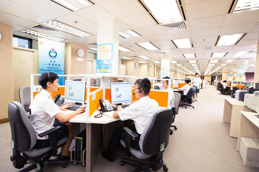 入境事务处协助在外香港居民小组为身处香港境外而陷